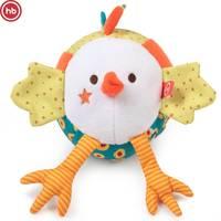 330679, Interactive toy, Happy Baby, Crazy Chicken, voice recording, multicolored