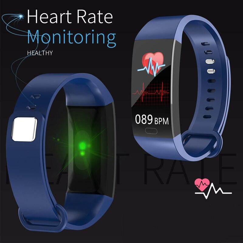Ufbea2f2389d04cc083b3fba5aa58eb73d Smart Bracelet Band Measuring Pressure Clock Fitness Bracelet Heart Rate Activity Tracker bracelet smart Wristband Waterproof