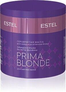 ESTEL Prima Blonde Серебристая маска для холодных оттенков блонд 300 мл|Маски для волос|   | АлиЭкспресс