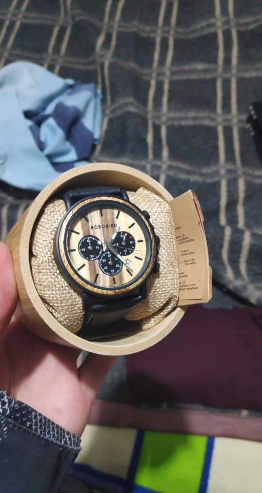 -- Relógio Madeira Relógio