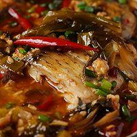 #福气年夜菜#年年有余的泡椒醪糟鲫鱼煲的做法图解3