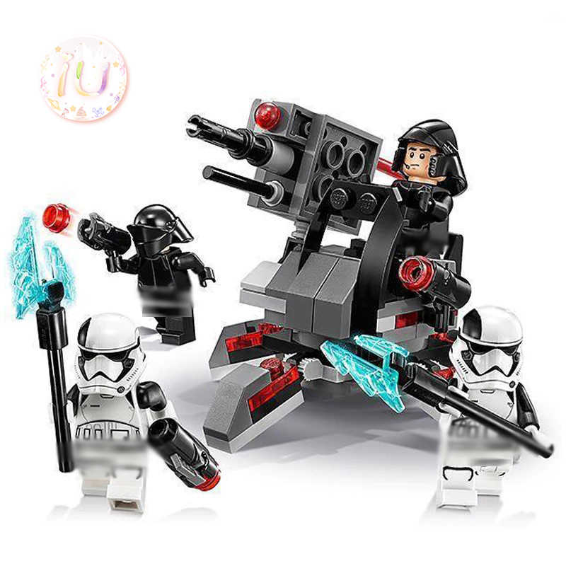 BELA 10895 Star Series First Order Specialists Battle-Pack Building Blocks Gifts Toys For Children War 132Pcs Compatible 75197