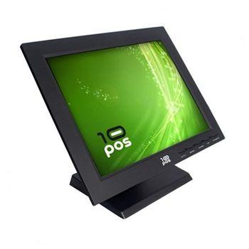 "Touch Screen Monitor 10POS FMOM150012 TS-15V TFT LCD 15"" Black"