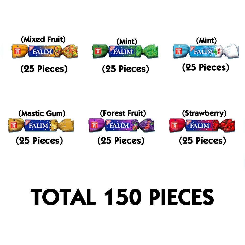 Falım Sugarless Chewing Gum Best Sugar Free Chewing Gum Sugar Free Gum 150 Pieces