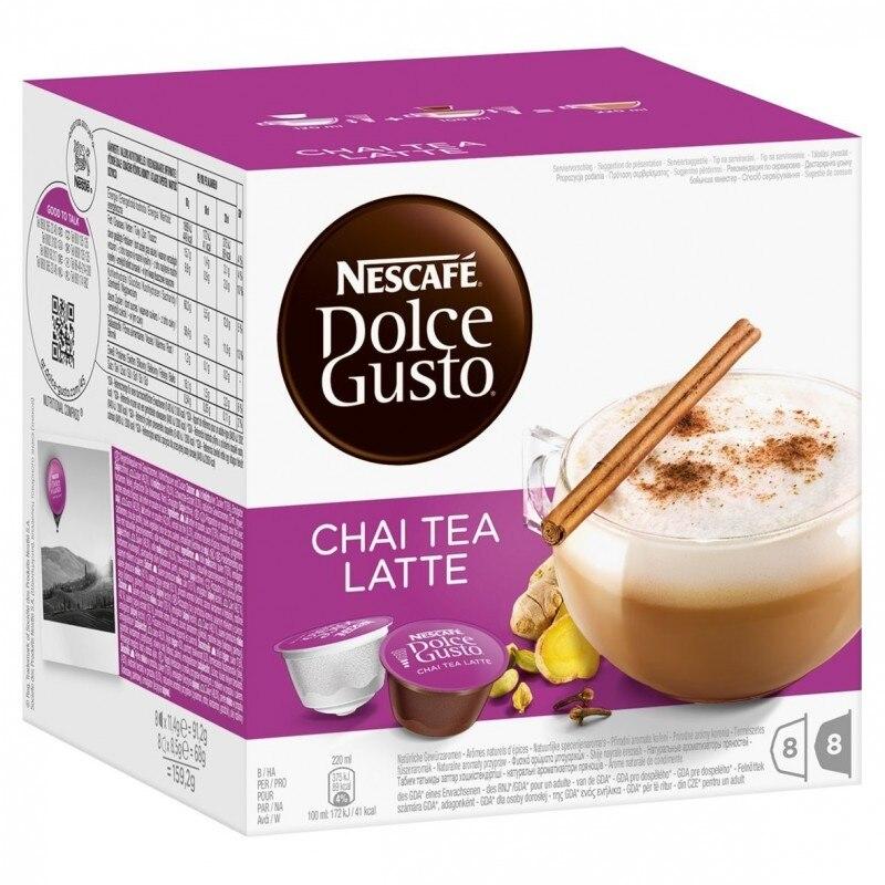 Chai Tea Latte, Dolce Gusto 8 8 units