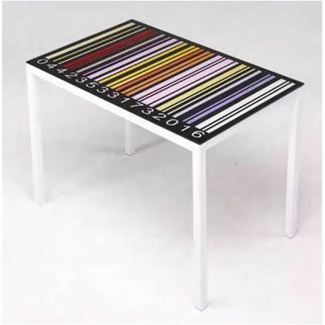 Glass Table Barcode