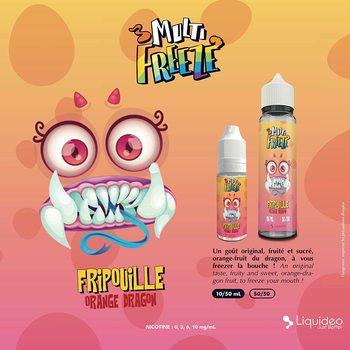 Multi-fripouille e-liquide, 50ML, sans nicotine, 50vg/50pg, cigarettes électroniques, vapotage
