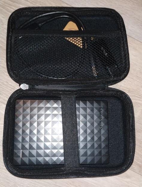 ORICO 2.5 Hard Disk Case Portable HDD Protection Bag for External 2.5 inch Hard Drive Earphone U Disk Hard Disk Drive Case Black reviews №3 43367