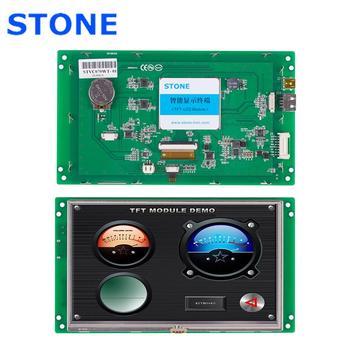 цена на STONE HMI  Intelligent TFT LCD Module 7 inch with Touch Screen+Software+Program