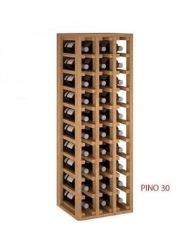 Botellero de madera 30 botellas недорого