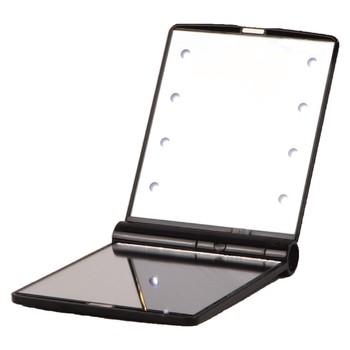 Diody LED Işıklı Makyaj Aynası #8211 Siyah tanie i dobre opinie NONE TR (pochodzenie)
