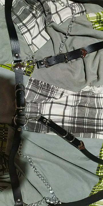 Punk Belt With Metal Waist Chain photo review