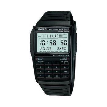 Casio Collection Watch Men Data Bank with Calculator Top Brand Digital Watch Set Wrist Watch Luxury Black DBC-32-1ADF мыло dbc 100g dzh03