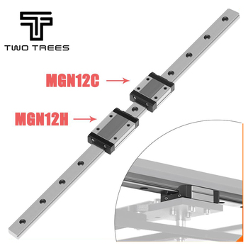 3D Printer Guide 12mm Linear Guide MGN12 L= 200/300/350/450/550mm linear& MGN12C/MGN12H Long linear carriage for CNC X Y Z Axis 1pcs mgn12 l350mm linear rail 1pcs mgn12c