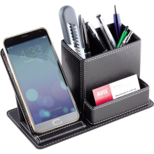 Multi-function Desk Stationery Organizer Pen Holder Pens Sta