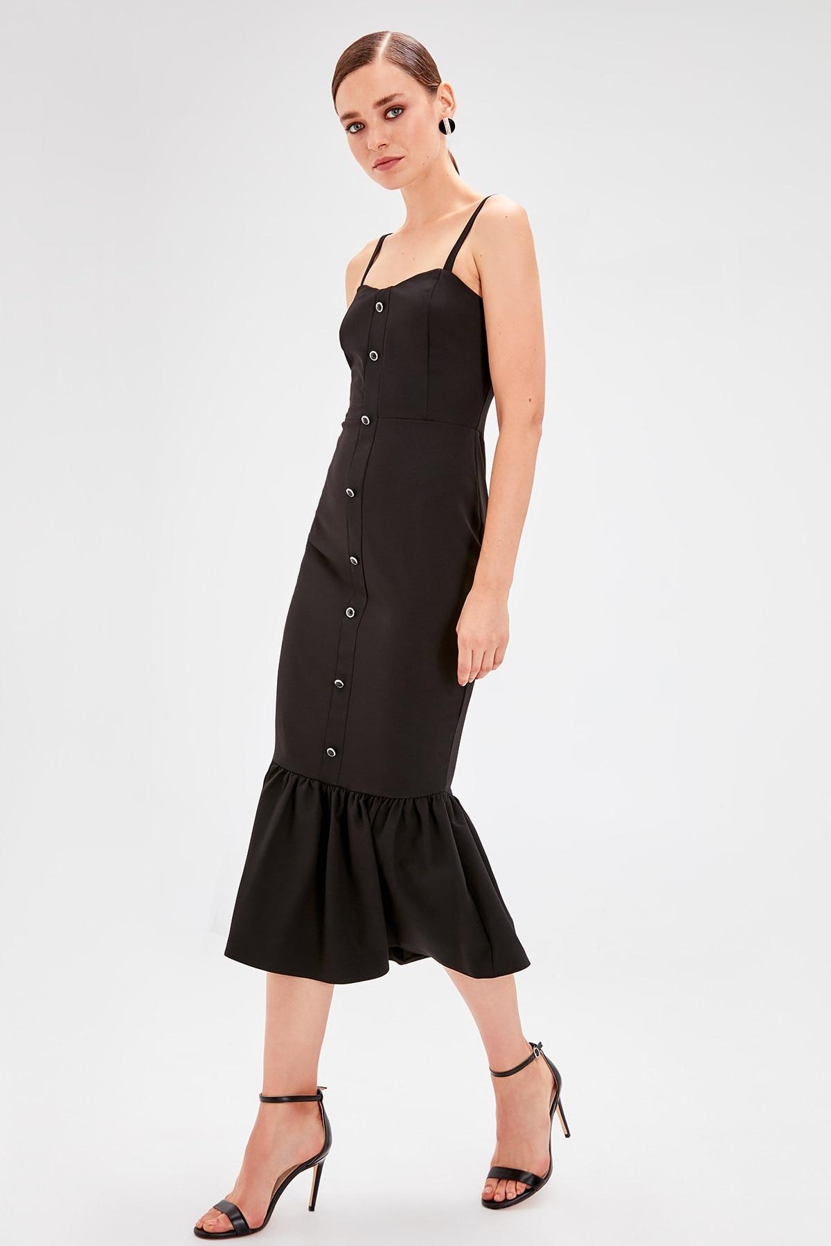 Trendyol Button Detail Dress TPRSS19FZ0577