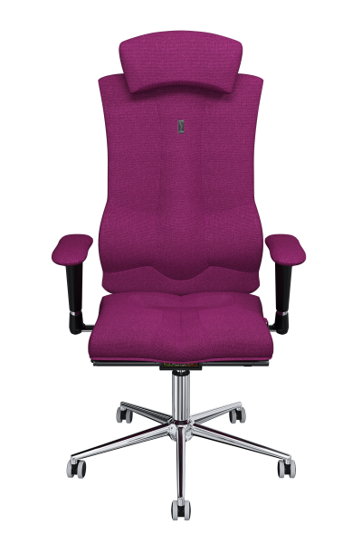 Office Chair KULIK SYSTEM ELEGANCE Pink Computer Chair Relief And Comfort For The Back 5 Zones Control Spine