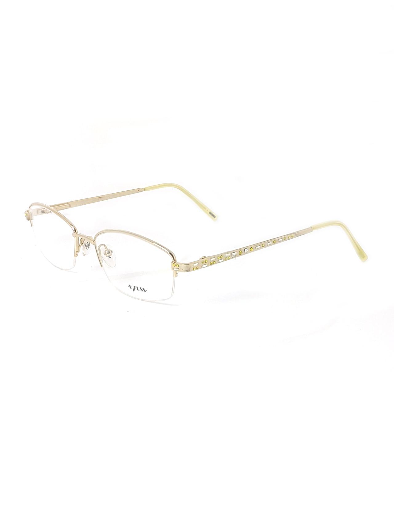 Markamilla Women Reading Glasses Frame Demo Glasses Eyewear Transparent High Quality WomenExess E 3253 6567 52