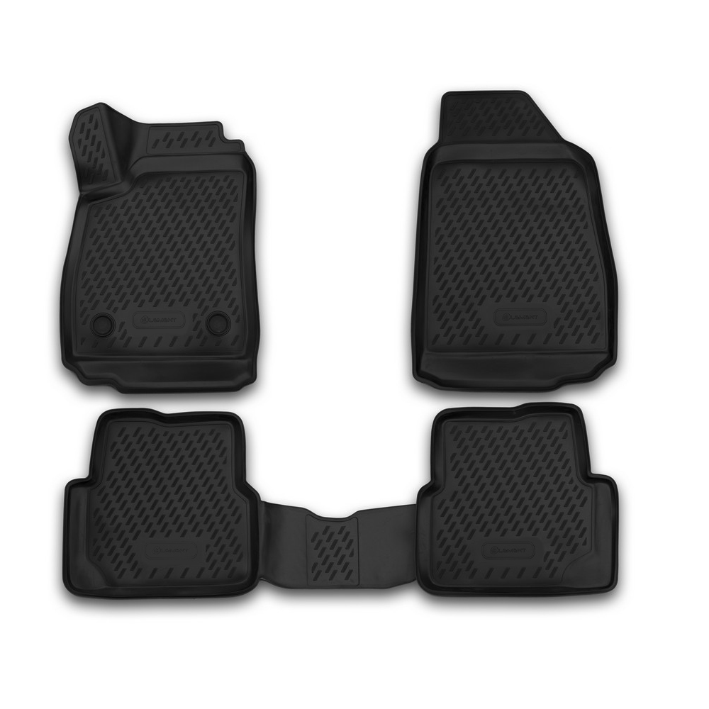 3D Mats In The Interior For CHEVROLET Cobalt 2013, 4 PCs CARCHV00029