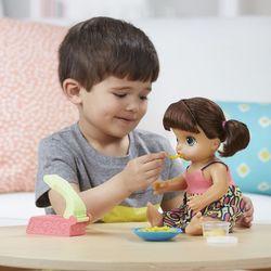 Baby Alive Super Snacks Snackin Noodles Baby (Brunette) Hasbro