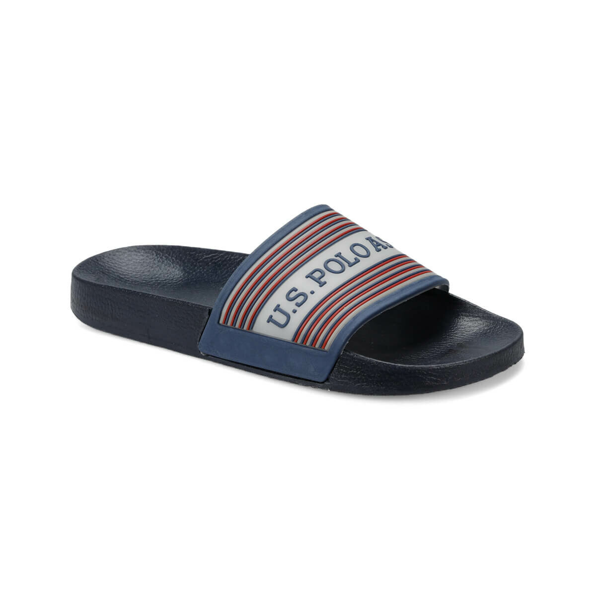 FLO DUVINA Navy Blue Male Slippers U.S. POLO ASSN.