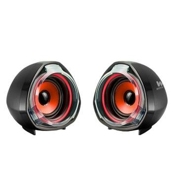Big Bass 70 Red - Altavoces para PC de 15W, USB &...