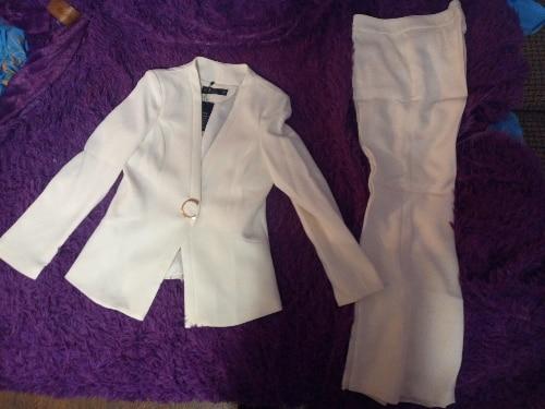 White Black Female formal Women's Costumes Suits Classic Office Lady Business Pantsuit Blazer Trouser Suit Set Workwear Uniform reviews №1 168192