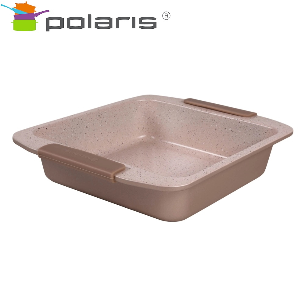 Square baking dish Polaris Stone-2323S kitchen baking все цены