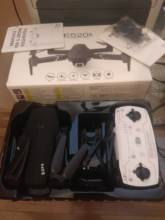 Arrived fast. Ever experienced. Am satisfied with the drone. Is not a top but is very good