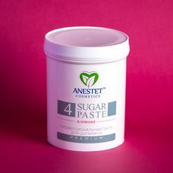 معجون السكر للسكرية ، كثيفة 4 ، 800 غرام. Anestet إزالة الشعر ، depiladora ، depilacion ، مزيل شعر الوجه ، إزالة الشعر بالشمع