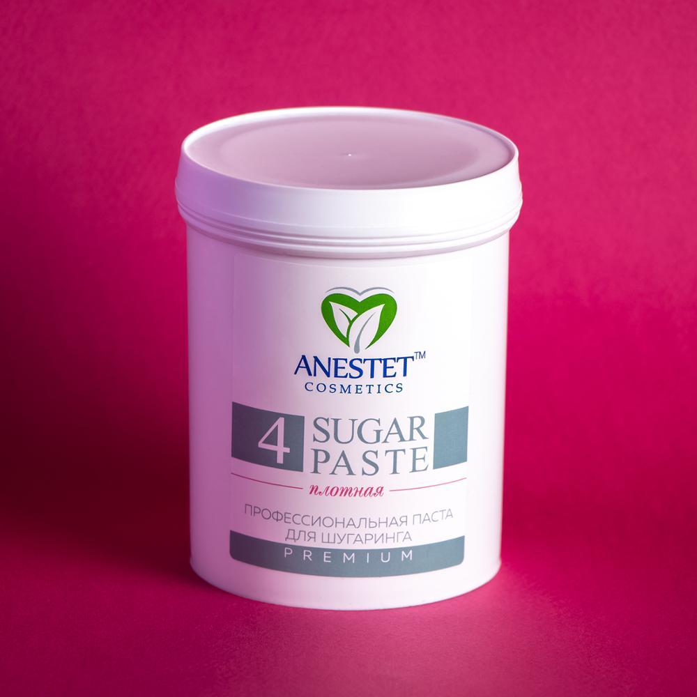 Sugar Paste For Sugaring, Dense 4, 800 Gr. Anestet Hair Removal, Depiladora, Depilacion, Facial Hair Remover, Epilation Waxing