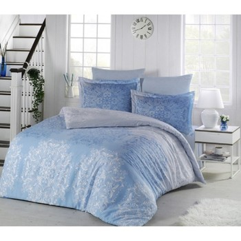 Bed linen lui color: blue (2 CN. Euro)