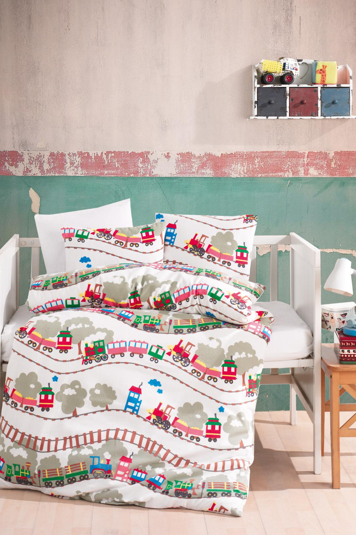 Baby Bed Set Hundred Percent Cotton | Baby Train