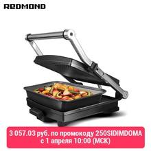 Parrilla-horno REDMOND Steak & Bake RGM-M803P parrilla eléctrica electrodomésticos para cocina eléctrica