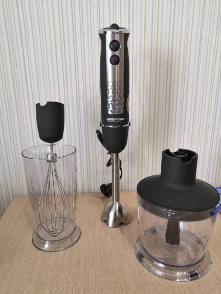 Blender submersible REDMOND RHB 2913 immersion with wisk chopper Shredder machine Household appliances for kitchen smoothies Blenders    - AliExpress