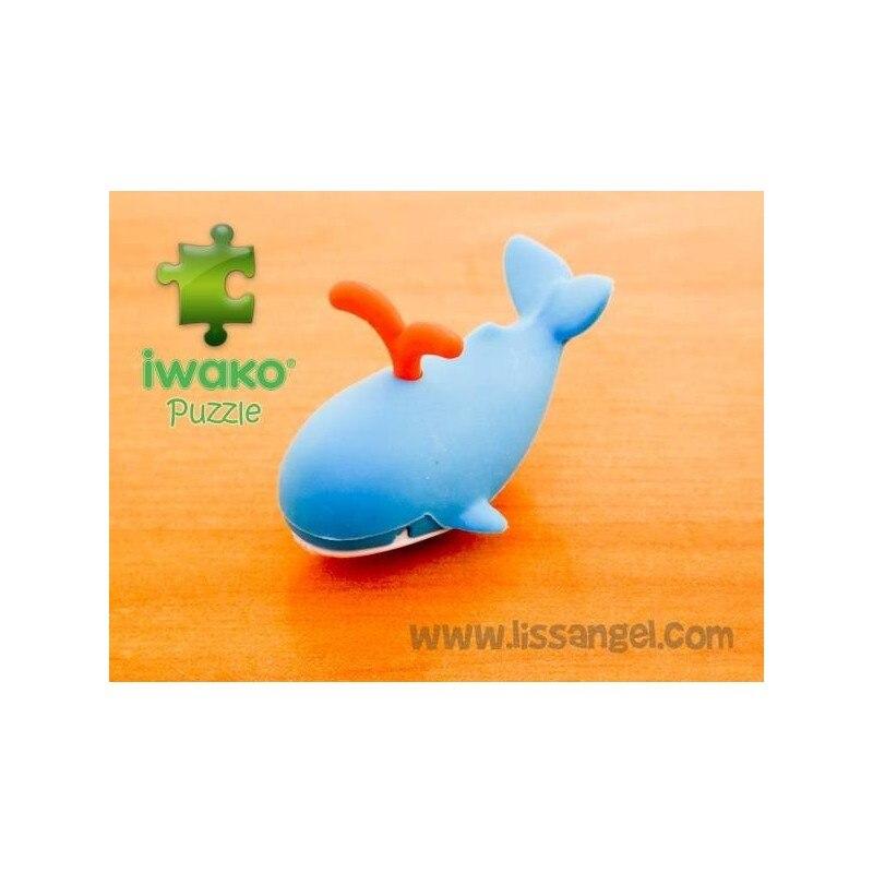 Puzzle IWAKO Eraser - Whale