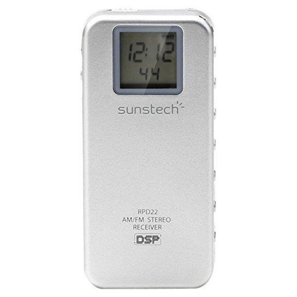 ТРАНЗИСТОР радио Sunstech RPD22SL серебро