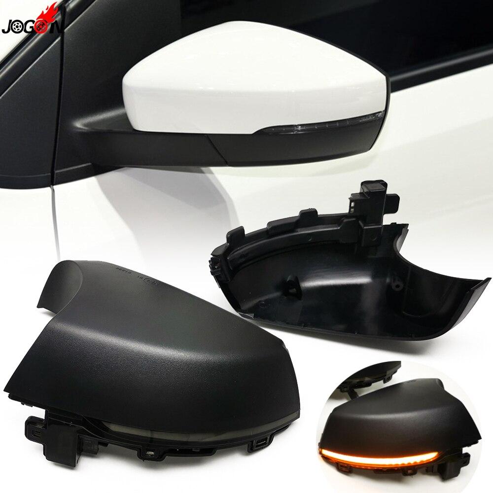 For VW Volkswagen Polo Mk5 V 6R 6C 2009-2017 LED Dynamic Turn Signal Blinker Sequential Side Rearview Mirror Indicator Light