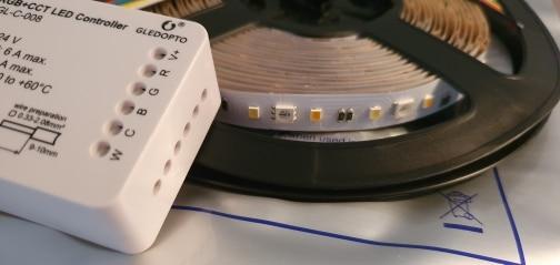 Controladores RGB Trabalhar Zigbee Inteligente