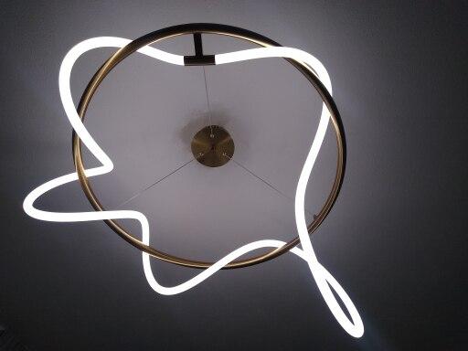 Lampedusa LED Designer Chandelier Lighting photo review