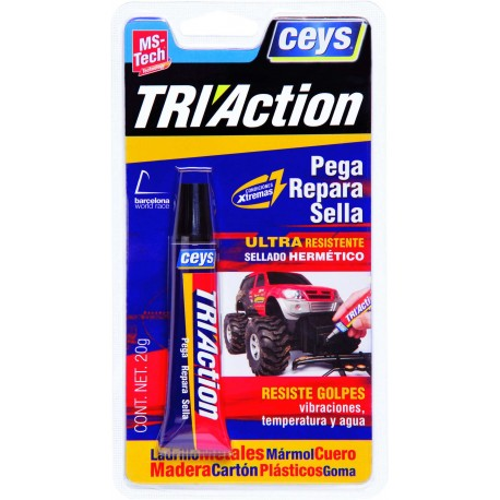ADHESIVE SEALANT TRI-ACTION 20 GR OUTRIGHT TECH CEYS