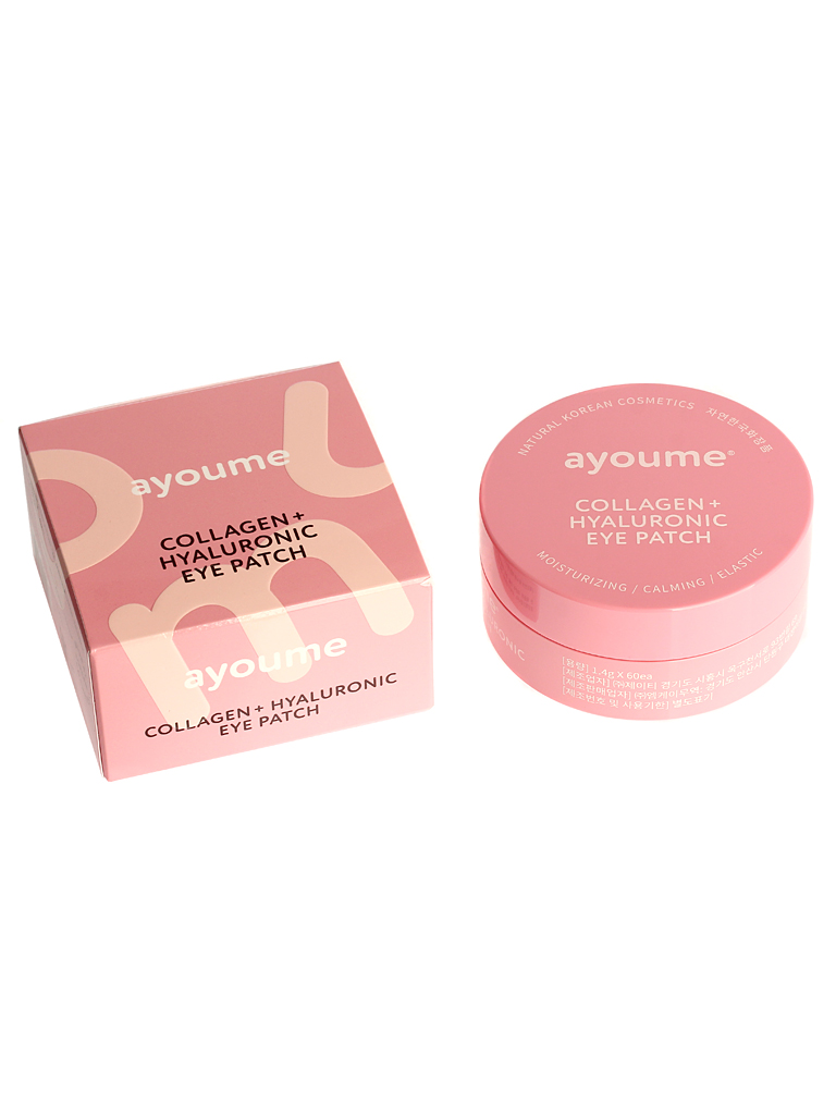 AYOUME COLLAGEN+HYALURONIC EYE PATCH 1,4г*60 Korean Cosmetic