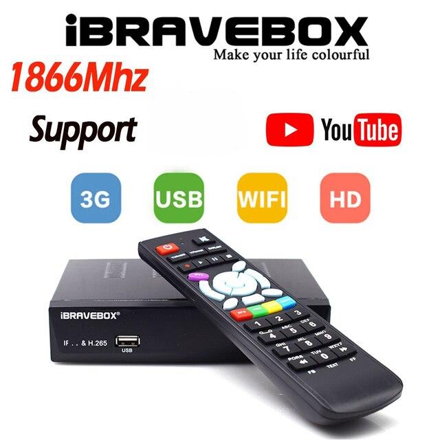 IBRAVEBOX F10S בתוספת לווין מקלט USB הדיגיטלי DVB S/S2 מלא HD 1080P H.265 Wifi טלוויזיה טרנר Vga טלוויזיה בלווין מקלט