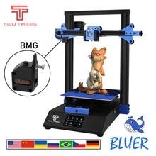 Two Trees 3D Printer Bluer Printing Masks Tempered Glass Resume Power Failure DIY Kit Hotbed Break Detection MK8 BMG extruder