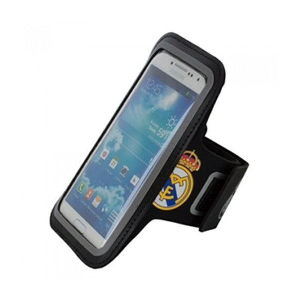 Sports Bracelet Real Madrid Muvit Black