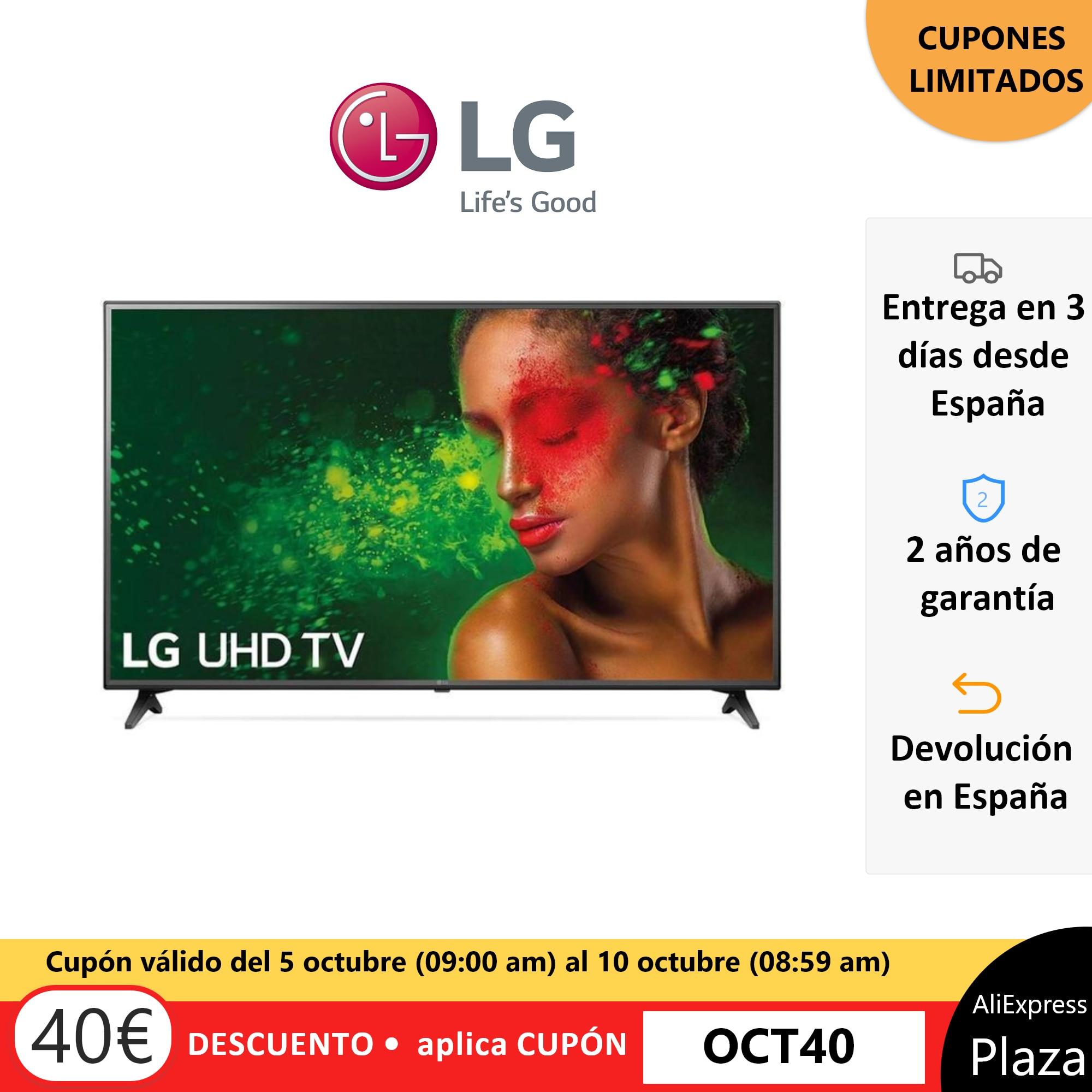 Televisor LG TV 55 UM7000PL UHD 4K Smart TV Procesador Quad Core, Sonido ULTRA Surround Plaza España