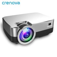 CRENOVA новейший HD 720P Android 8,0 OS проектор с wifi Bluetooth домашний кинотеатр видео проектор 3500 люмен проектор