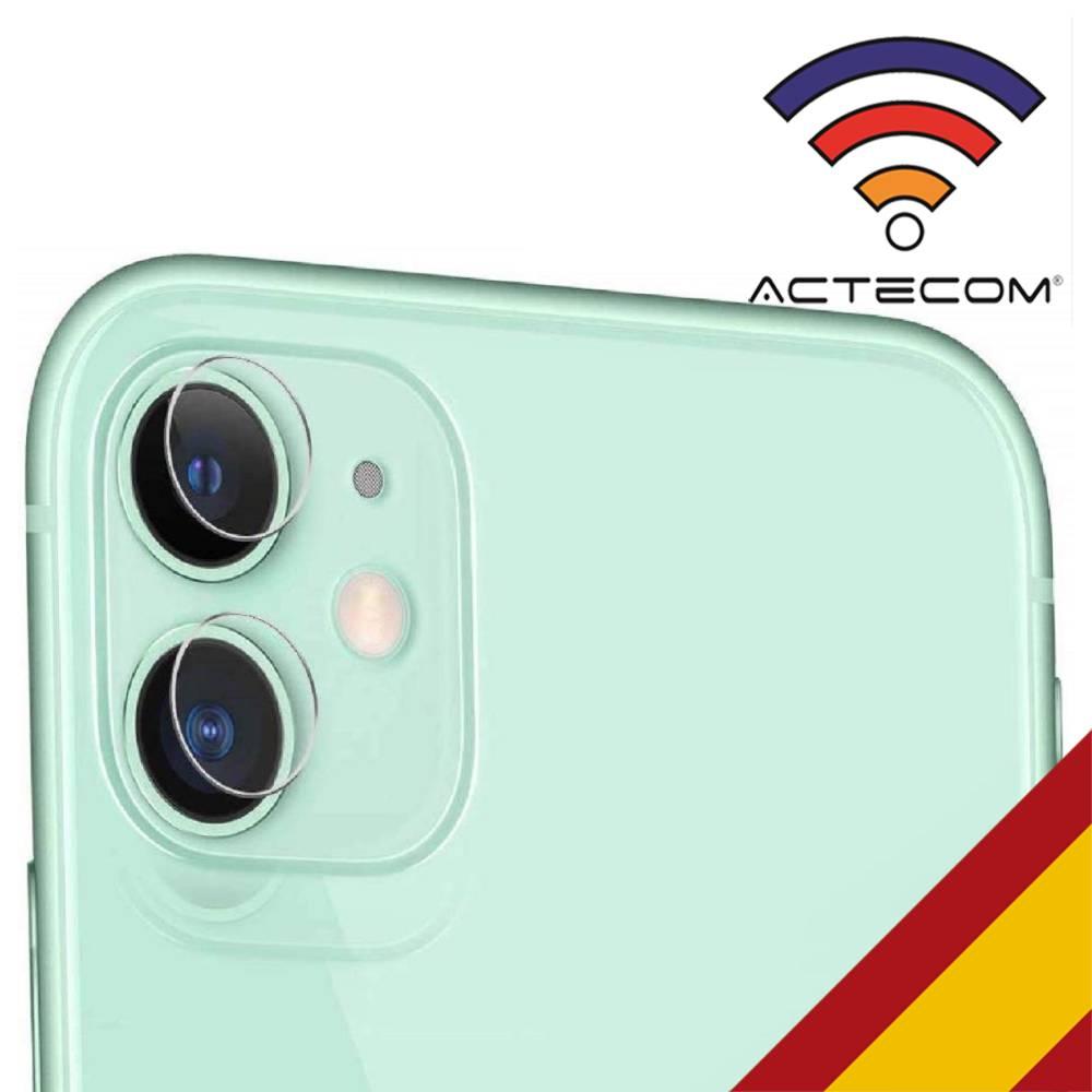 ACTECOM Protector De Lente Cámara Para IPhone 11,  Iphone 11 Pro, Iphone 11 Pro Max Camara Cristal Templado IPhone 11 Pro
