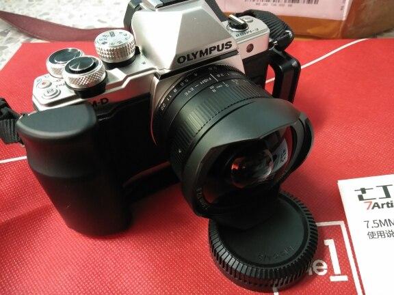 Lente da câmera Fisheye Manual Montar