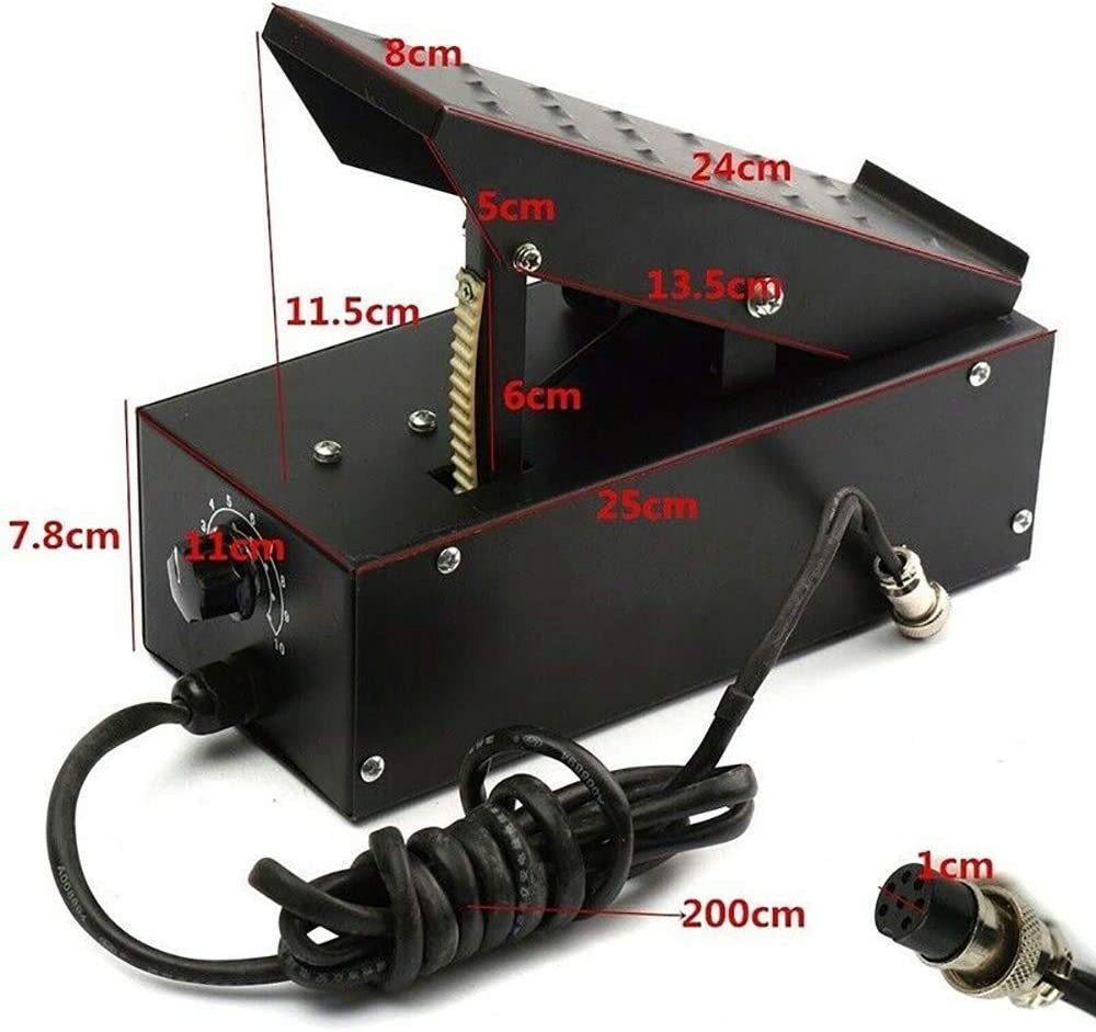 Foot-Pedal Welding-Machine Plasma-Cutter TIG for Power-Control-Equipment 2--3-Pins